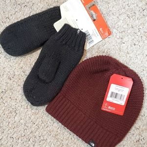 The north face bundle hat and mittens
